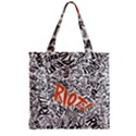 Paramore Is An American Rock Band Zipper Grocery Tote Bag View1