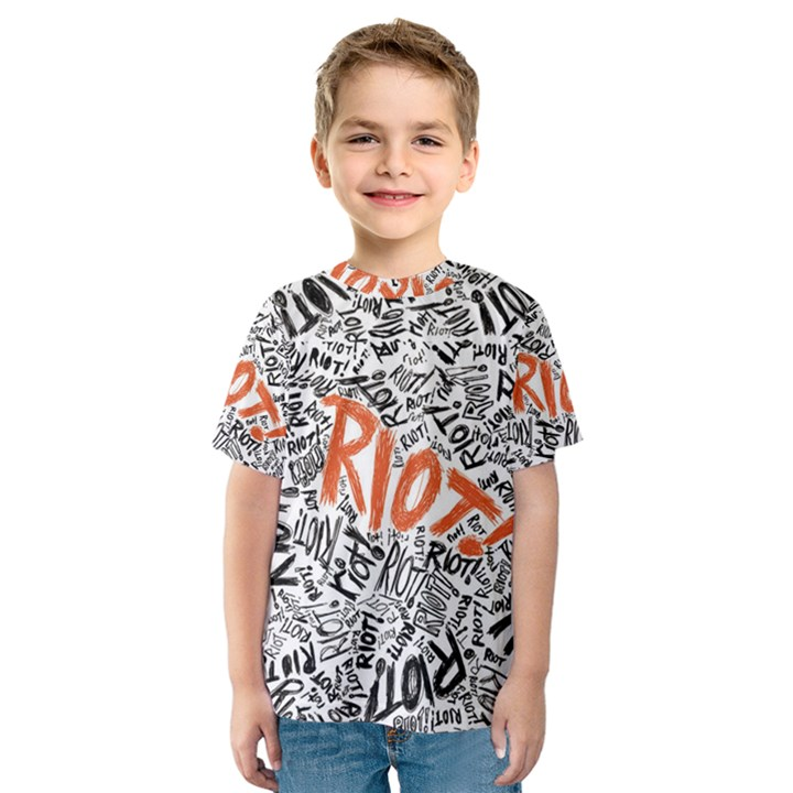 Paramore Is An American Rock Band Kids  Sport Mesh Tee
