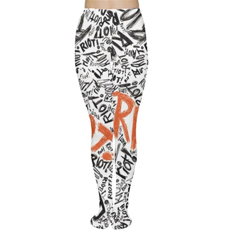 Paramore Is An American Rock Band Women s Tights