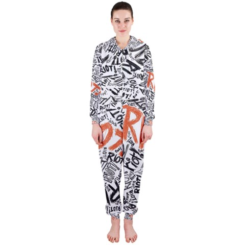 Paramore Is An American Rock Band Hooded Jumpsuit (Ladies)