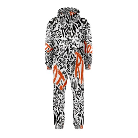 Paramore Is An American Rock Band Hooded Jumpsuit (Kids)
