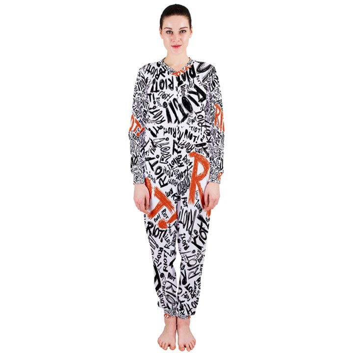 Paramore Is An American Rock Band OnePiece Jumpsuit (Ladies)