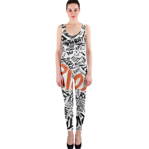 Paramore Is An American Rock Band OnePiece Catsuit