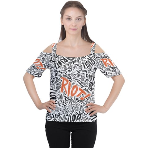 Paramore Is An American Rock Band Women s Cutout Shoulder Tee