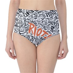 Paramore Is An American Rock Band High-Waist Bikini Bottoms