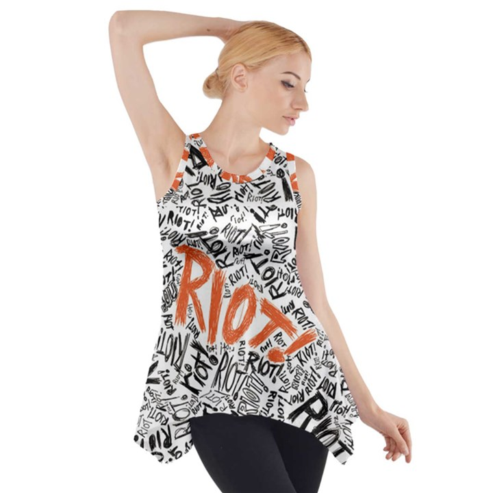 Paramore Is An American Rock Band Side Drop Tank Tunic