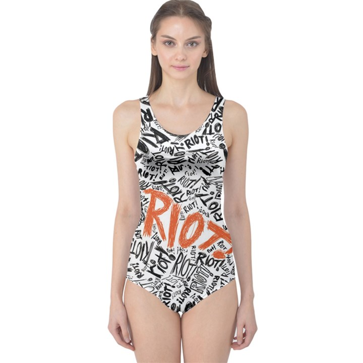 Paramore Is An American Rock Band One Piece Swimsuit