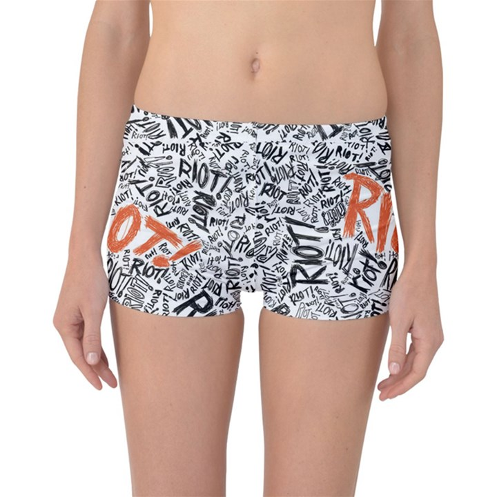 Paramore Is An American Rock Band Reversible Boyleg Bikini Bottoms