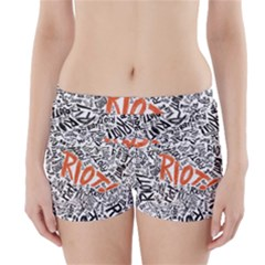 Paramore Is An American Rock Band Boyleg Bikini Wrap Bottoms
