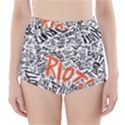 Paramore Is An American Rock Band High-Waisted Bikini Bottoms View1