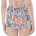 Paramore Is An American Rock Band High-Waisted Bikini Bottoms View2
