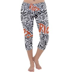Paramore Is An American Rock Band Capri Yoga Leggings