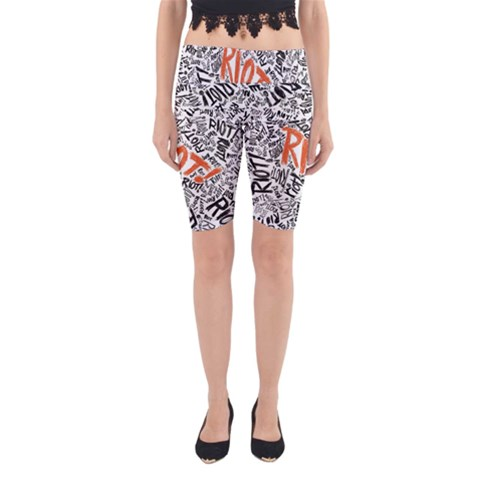 Paramore Is An American Rock Band Yoga Cropped Leggings
