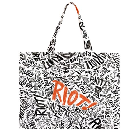 Paramore Is An American Rock Band Large Tote Bag