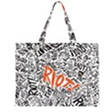 Paramore Is An American Rock Band Large Tote Bag View1