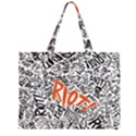 Paramore Is An American Rock Band Large Tote Bag View2