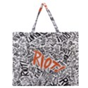Paramore Is An American Rock Band Zipper Large Tote Bag View1