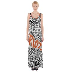 Paramore Is An American Rock Band Maxi Thigh Split Dress