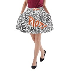 Paramore Is An American Rock Band A Line Pocket Skirt