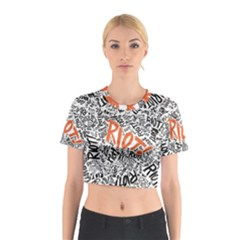 Paramore Is An American Rock Band Cotton Crop Top