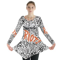 Paramore Is An American Rock Band Long Sleeve Tunic