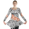 Paramore Is An American Rock Band Long Sleeve Tunic  View1