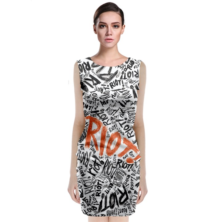 Paramore Is An American Rock Band Classic Sleeveless Midi Dress