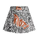 Paramore Is An American Rock Band Mini Flare Skirt View1