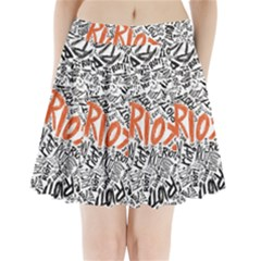 Paramore Is An American Rock Band Pleated Mini Skirt