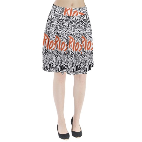 Paramore Is An American Rock Band Pleated Skirt
