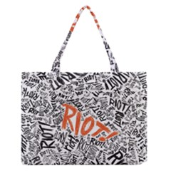 Paramore Is An American Rock Band Medium Zipper Tote Bag
