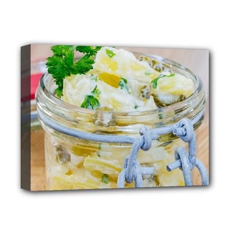1 Kartoffelsalat Einmachglas 2 Deluxe Canvas 16  x 12