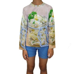 1 Kartoffelsalat Einmachglas 2 Kids  Long Sleeve Swimwear