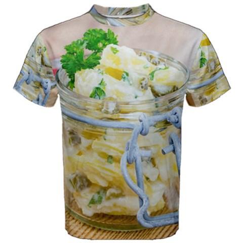1 Kartoffelsalat Einmachglas 2 Men s Cotton Tee