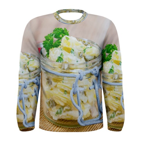 1 Kartoffelsalat Einmachglas 2 Men s Long Sleeve Tee