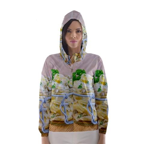 1 Kartoffelsalat Einmachglas 2 Hooded Wind Breaker (Women)
