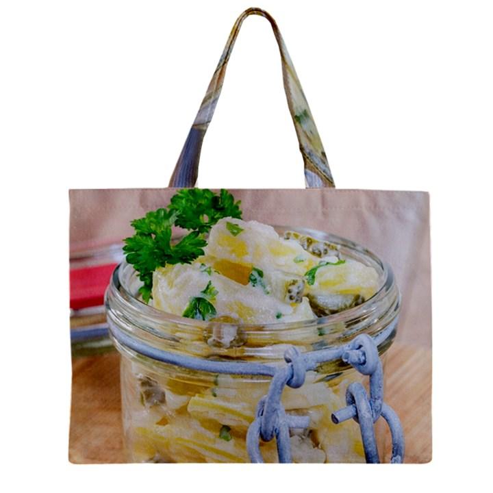 1 Kartoffelsalat Einmachglas 2 Zipper Mini Tote Bag