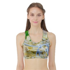 1 Kartoffelsalat Einmachglas 2 Sports Bra with Border