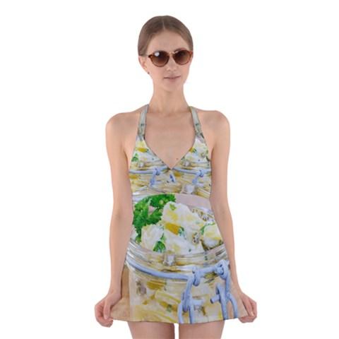 1 Kartoffelsalat Einmachglas 2 Halter Swimsuit Dress