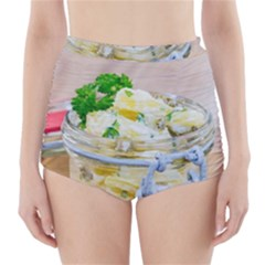 1 Kartoffelsalat Einmachglas 2 High-Waisted Bikini Bottoms