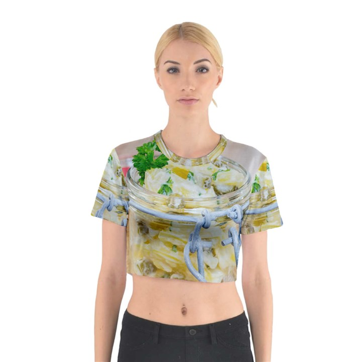 1 Kartoffelsalat Einmachglas 2 Cotton Crop Top