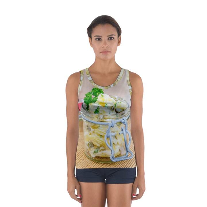 1 Kartoffelsalat Einmachglas 2 Women s Sport Tank Top