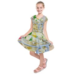 1 Kartoffelsalat Einmachglas 2 Kids  Short Sleeve Dress