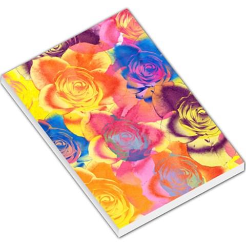 Pop Art Roses Large Memo Pads
