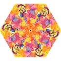 Pop Art Roses Mini Folding Umbrellas View1