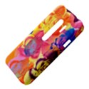 Pop Art Roses HTC Evo 3D Hardshell Case  View4