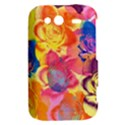 Pop Art Roses HTC Wildfire S A510e Hardshell Case View2