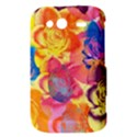 Pop Art Roses HTC Wildfire S A510e Hardshell Case View3