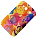 Pop Art Roses HTC Wildfire S A510e Hardshell Case View4