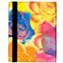 Pop Art Roses Apple iPad 2 Flip Case View3